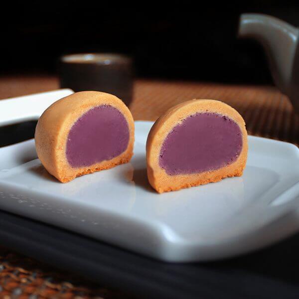 曾記麻糬花蓮芋立袋式,花蓮特產,甜點,下午茶,小點心,hualien-taro-bagged,tzen,hualien