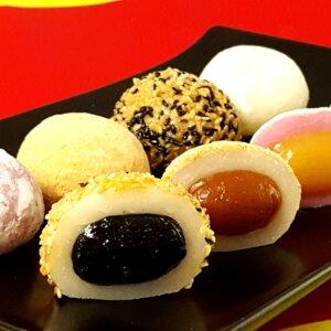 曾記麻糬臻園滿8入綜合麻糬禮盒,花蓮特產,甜點,下午茶,小點心,花蓮麻糬,8mochi-gifts,tzen,hualien