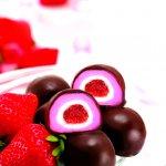 曾記麻糬台灣草莓巧克力,花蓮特產,甜點,下午茶,小點心,花蓮麻糬,Taiwan-strawberry-chocolate-mochi,tzen,hualien