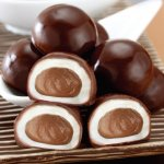 曾記麻糬台灣芋頭巧克力,花蓮特產,甜點,下午茶,小點心,花蓮麻糬,Taiwan-taro-chocolate-mochi,tzen,hualien