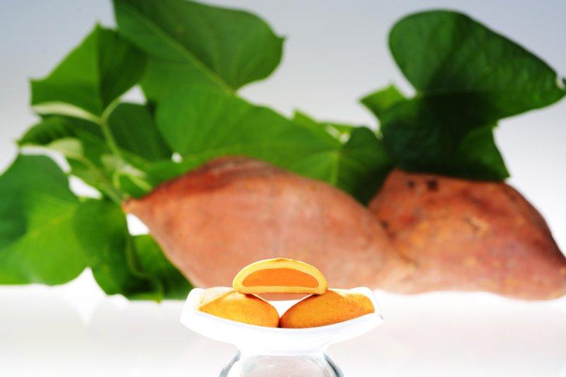 曾記麻糬台灣黃金薯餅,花蓮特產,甜點,下午茶,小點心,花蓮麻糬,taiwaness-sweet-potato-cake,tzen,hualien