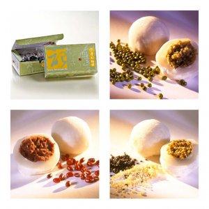 曾記麻糬三寶玉麻糬盒裝,花蓮特產,甜點,下午茶,小點心,花蓮麻糬,three-flavors-traditional-mochi-box,tzen,hualien